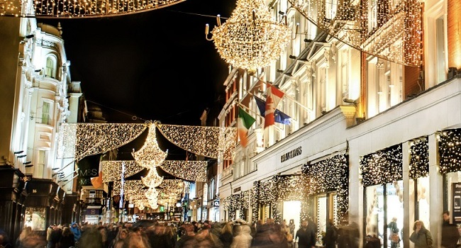 dublin at christmas  five perfect spots to eat and drink around grafton street